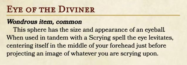 Eye of the Diviner