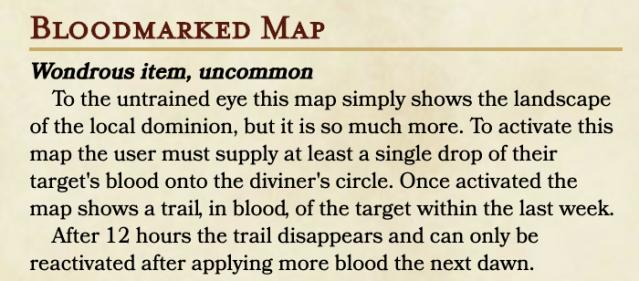 Bloodmarked Map