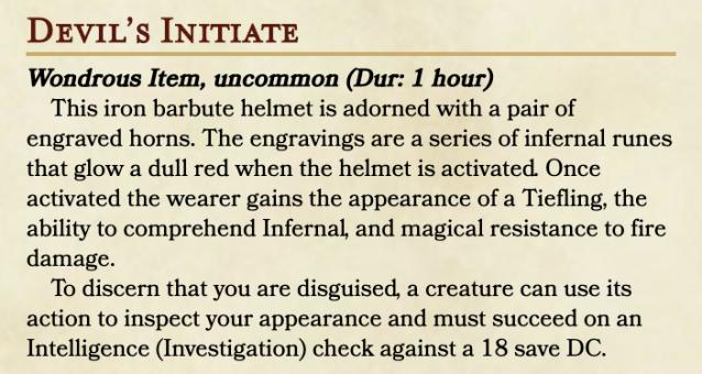 Devil's Initiate