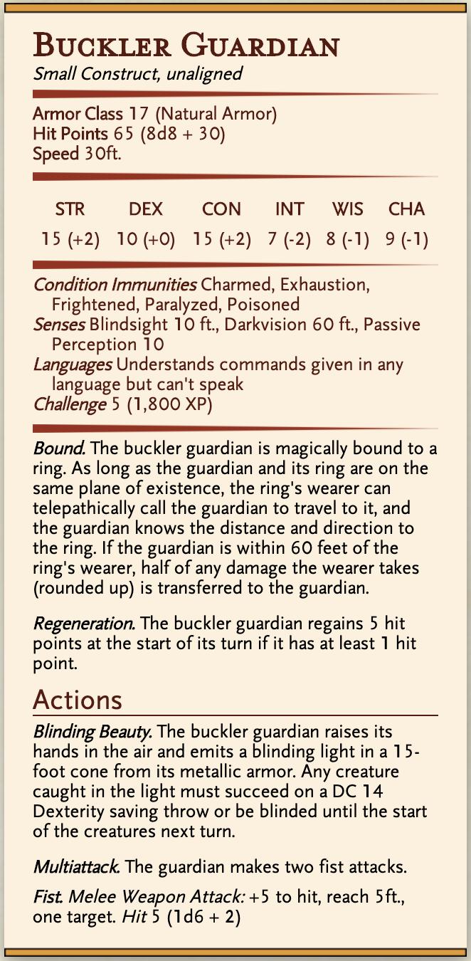 Buckler Guardian