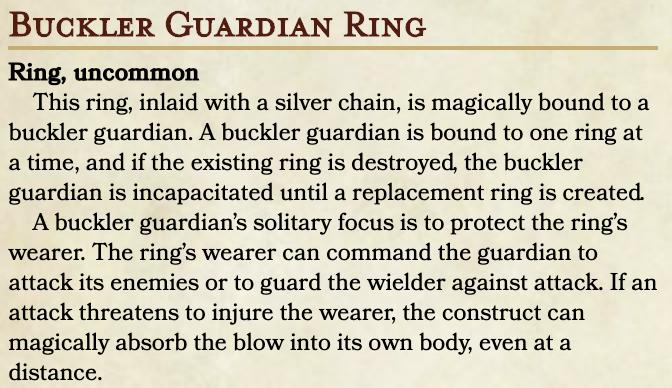 Buckler Ring
